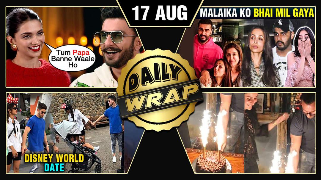Priyanka Nick Disneyland Date, Deepika Ranveer Pregnant, Malaika Arjun Raksha Bandhan   Top 10 News