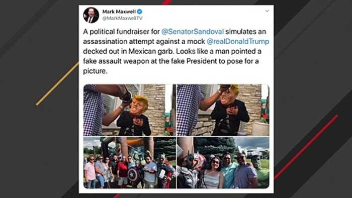 Illinois Democratic Sen. Sandoval Issues Apology For Mock Trump Assassination Photos