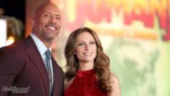 Dwayne Johnson Marries Longtime Girlfriend Lauren Hashian | THR News