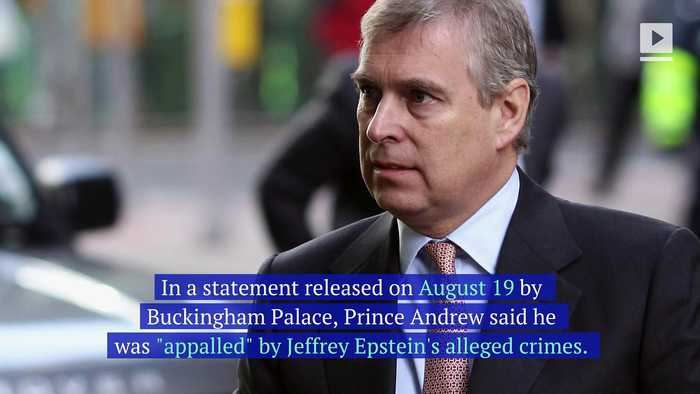 Prince Andrew Releases Statement Distancing Himself From Jeffrey Epstein