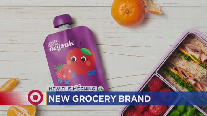 Target Launching New Grocery Brand 'Good & Gather'