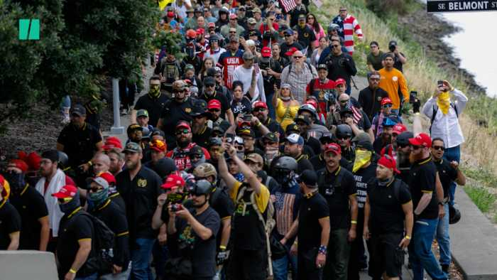 Proud Boys Rally Ends Early