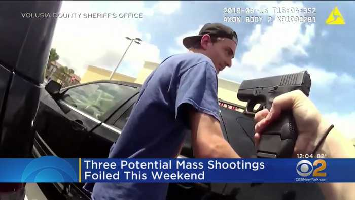 Three Potential Mass Shootings Foiled This Weekend