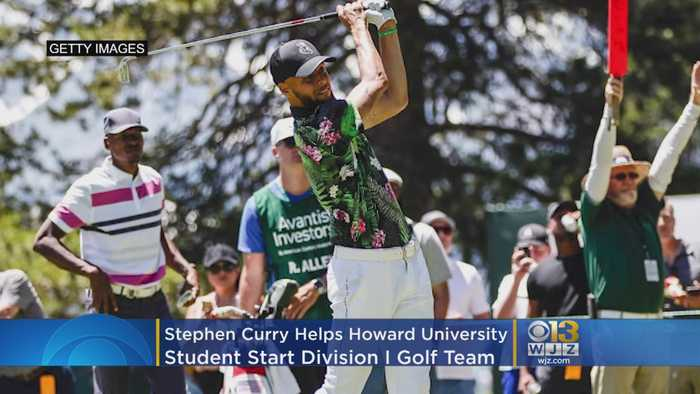NBA's Steph Curry Helps Howard University Student Start Division I Golf Team