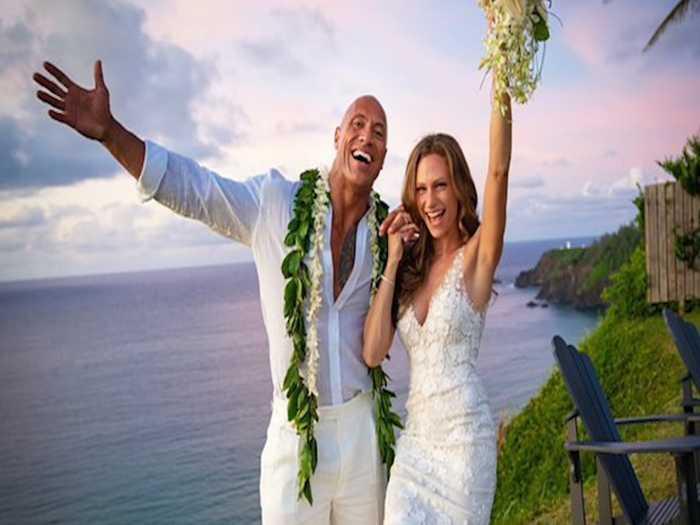 Dwayne 'The Rock' Johnson marries longtime girlfriend in secret ceremony
