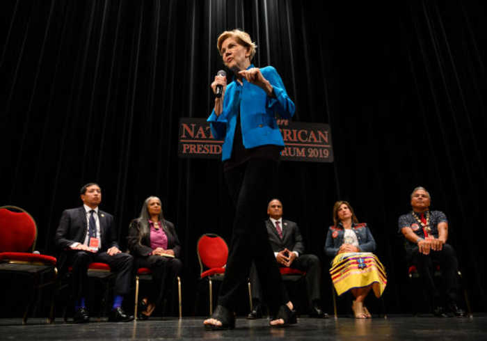 Elizabeth Warren Publicly Apologizes for Native American Heritage Claims