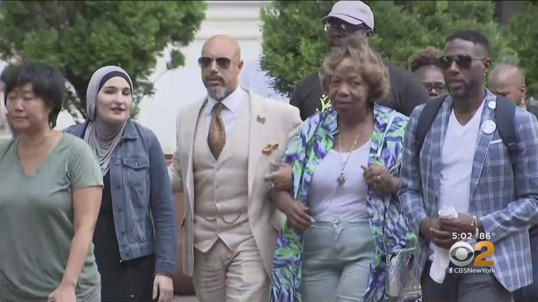 Eric Garner's Family Reacts To Officer Daniel Pantaleo's Firing