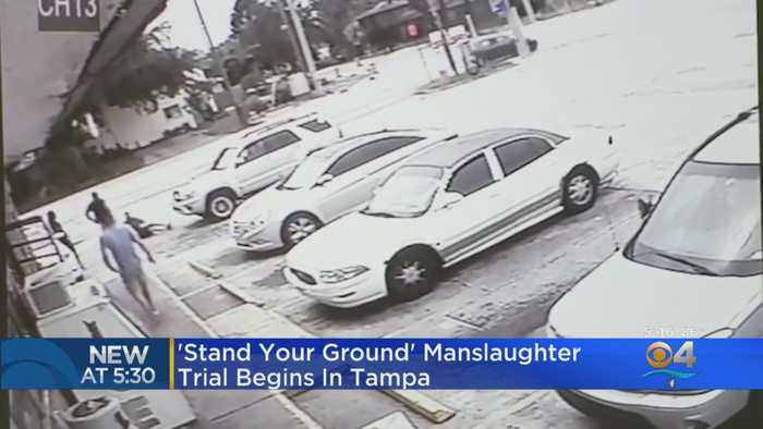 Stand Your Ground' Manslaughter Trial Gets Underway In Killing Over Handicap Parking Spot
