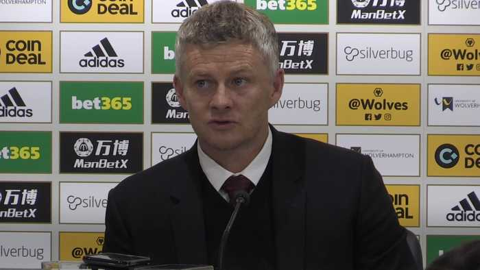 Solskjaer on Man United penalty confusion after draw at Wolves
