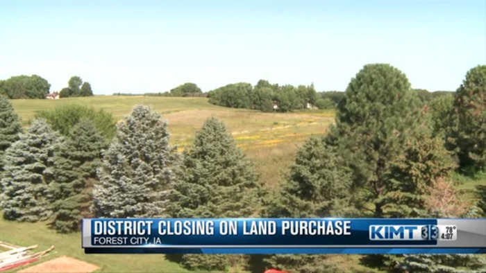 Forest City School District decides what to do with land
