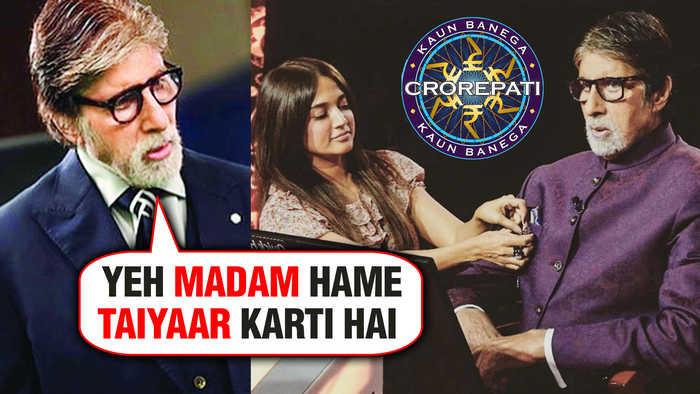 KBC 11 | Amitabh Bachchan ULTIMATE Style FACTS Reveals Stylist Priya Patil