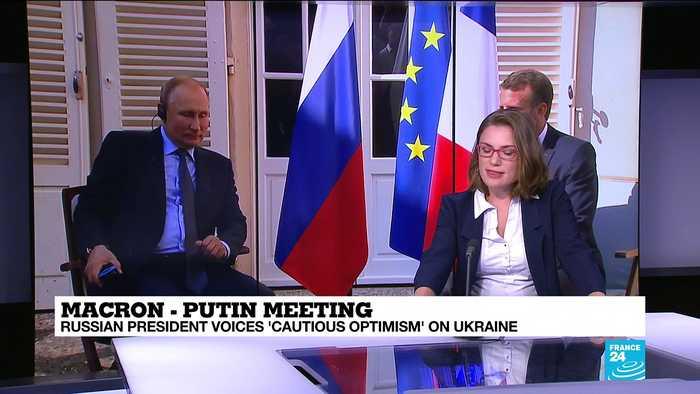 Macron-Putin meeting: