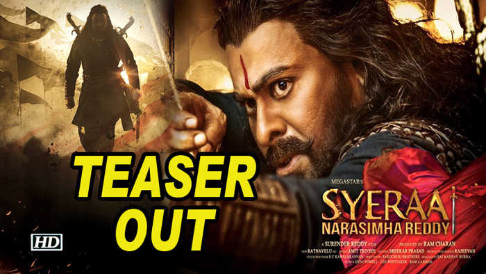 'Sye Raa Narasimha Reddy', a tale of forgotten warrior| TEASER OUT