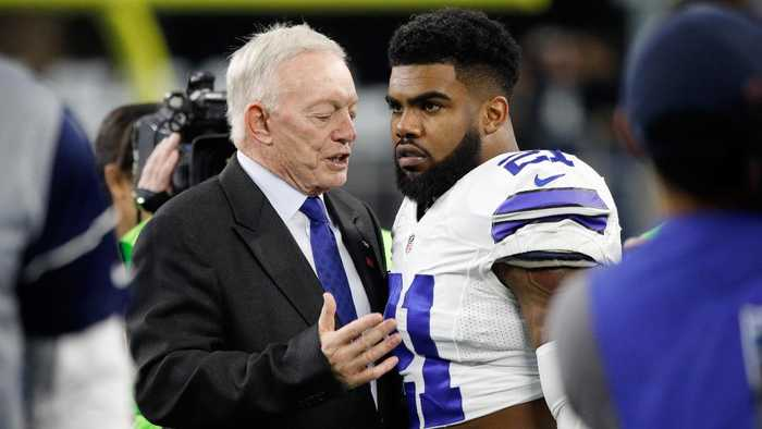 Ezekiel Elliott Felt Disrespected by Jerry Jones' 'Zeke Who?' Comment