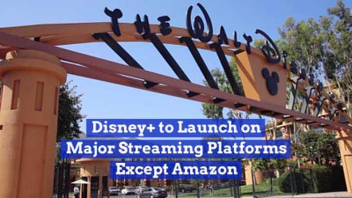 Disney Is Everywhere Except Amazon