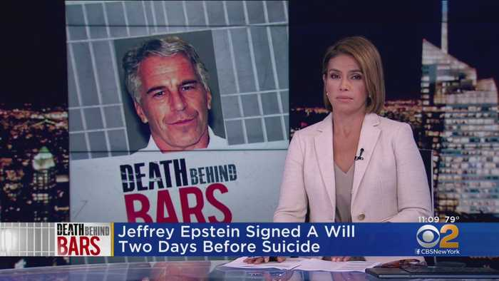 Jeffrey Epstein Signed A Will Two Days Before Suicide