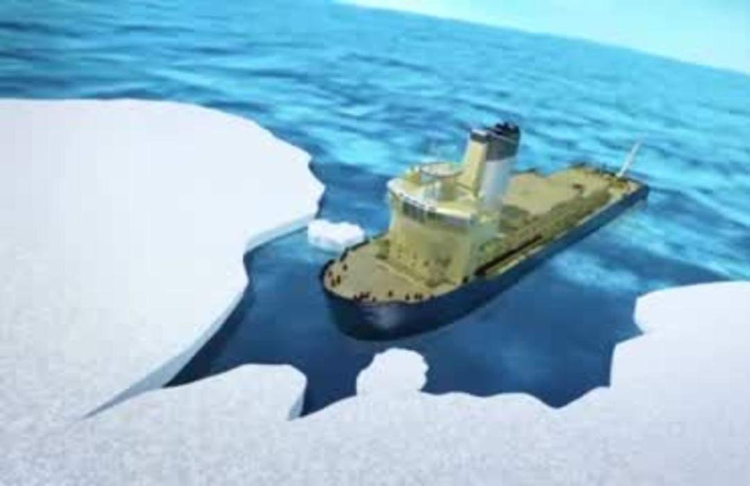 Microplastics found in Arctic sea ice