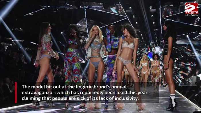 Kate Upton blasts Victoria's Secret fashion show