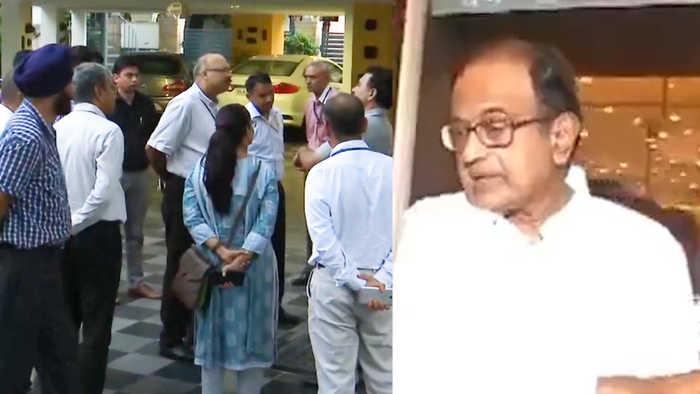 CBI, ED at Chidambaram's house after Delhi HC refuses pre-arrest bail
