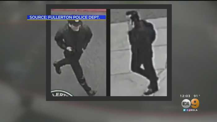 Surveillance Video, Sketch Released Of Cal State Fullerton Stabbing Suspect