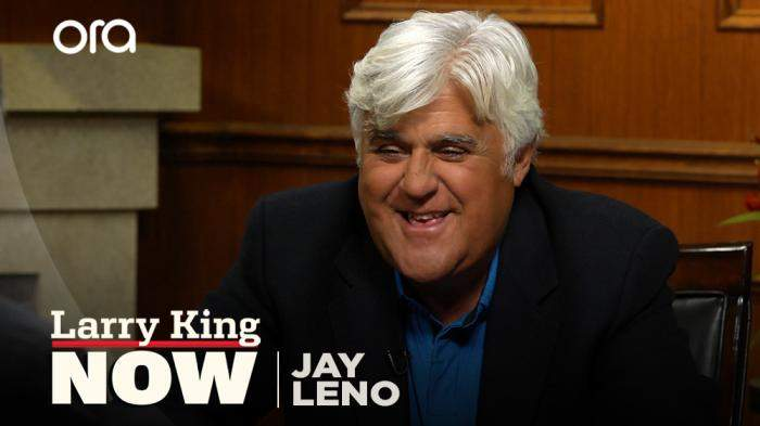 Jay Leno reveals his favorite joke from when he hosted 'The Tonight Show'