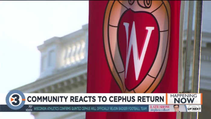 A cause for celebration for some, concern for others: Community reacts to Cephus' return as Badger