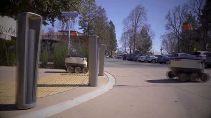 delivery robots coming to campus