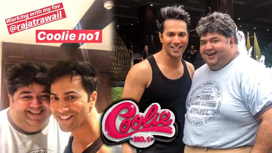 Salman Khan's Tsunami JOINS Varun Dhawan In Coolie No: 1   WATCH   Sara Ali Khan