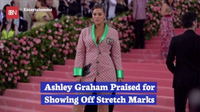 Ashley Graham Shows Off Stretch Marks