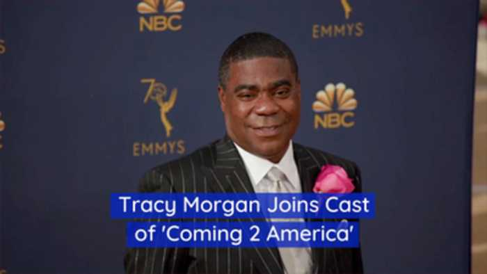 Tracy Morgan Is 'Coming 2 America' Too