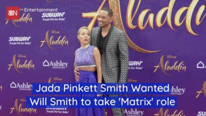 Jada Pinkett Smith Tried To Push Will Smith Into The Matrix