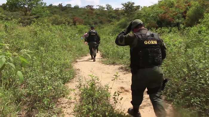 En Girón la Policía desmanteló una empacadora de estupefacientes