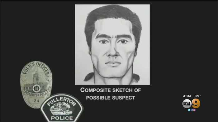 Sketch, Surveillance Video Released Of Cal State Fullerton Stabbing Suspect