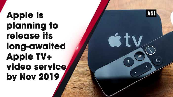 Apple TV Plus to launch in November at 10 dollars per month Report