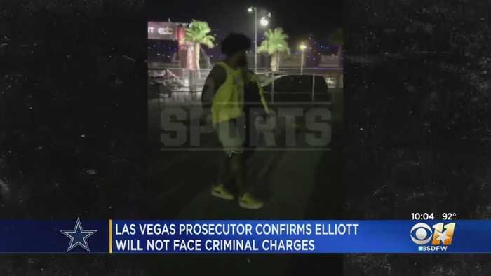 Ezekiel Elliott Won't Face Criminal Charges Related To Las Vegas Shoving Incident