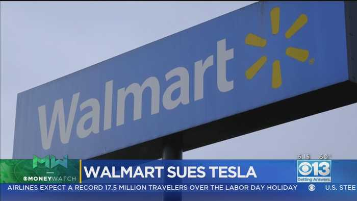 Money Watch: Walmart Sues Tesla Over Solar Panels That Caught Fire