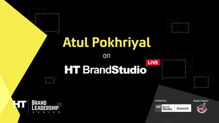 Atul Pokhriyal on HT Brand Studio LiveSeason 2 Episode 2