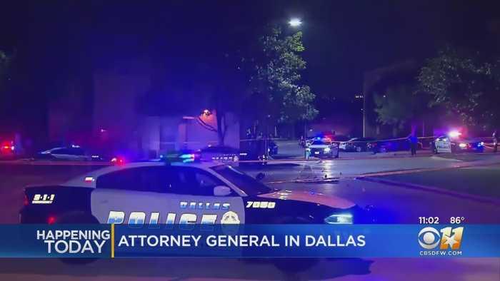 U.S. Attorney General Bill Barr In Dallas To Discuss City's Violent Crime