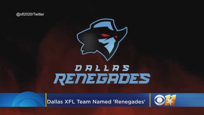 'Raising Hell': Dallas' XFL Team Named The Renegades