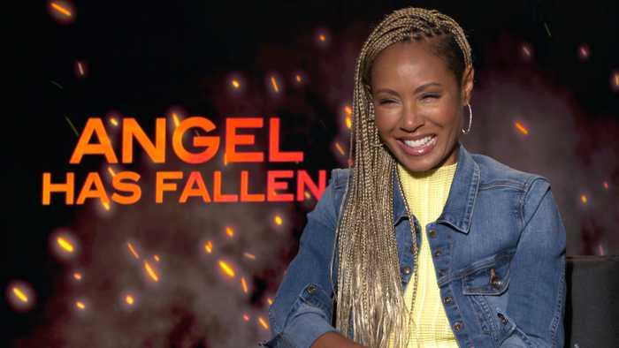 Jada Pinkett Smith, Piper Perabo Talk 'Angel Has Fallen'
