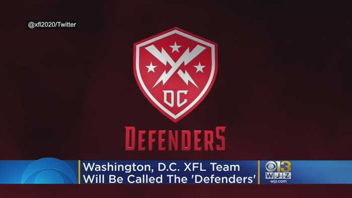 D.C.'s XFL Team Nickname Revealed As The Defenders Ahead Of 2020 Inaugural Season