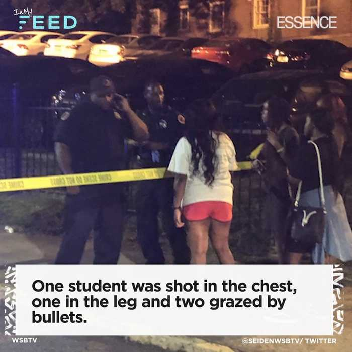 Students Shot During Block Party Near Clark Atlanta University