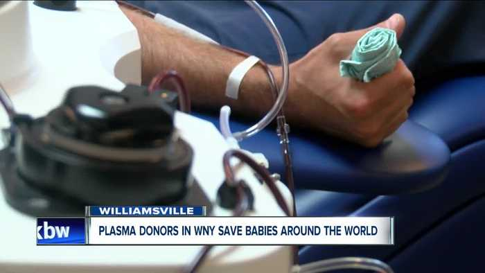 Plasma donors in Western New York save babies around the world