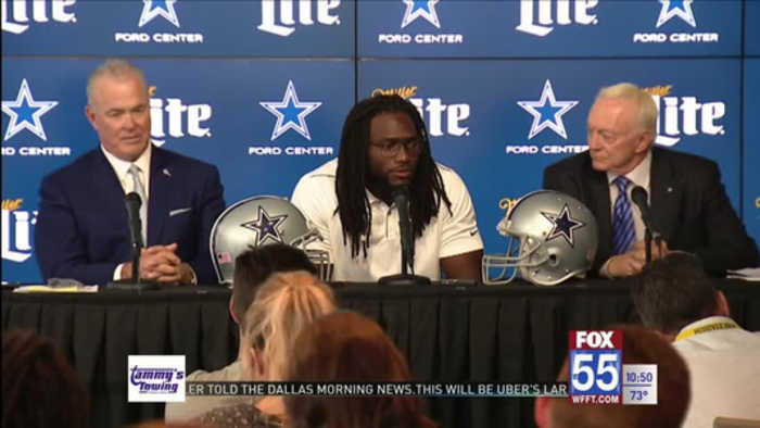 Jaylon Smith Signs Five-Year Extension with Cowboys