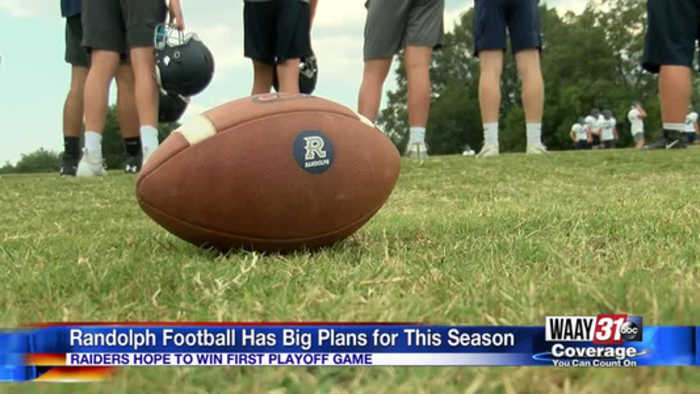 Randolph football ready for the 2019 season