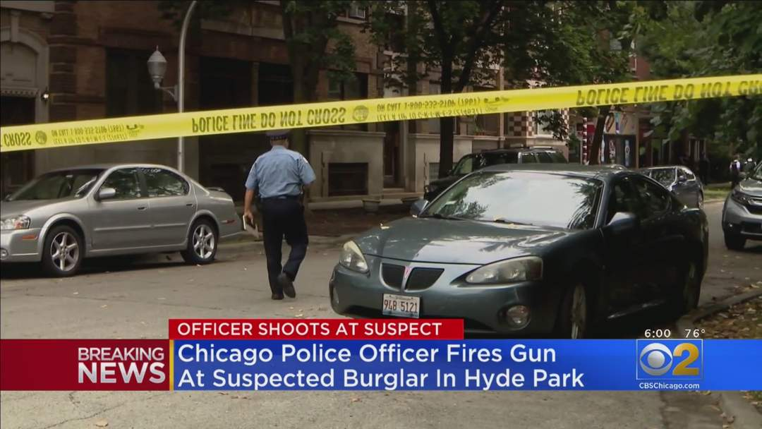 Officer Fires At Burglary Suspect In Hyde Park