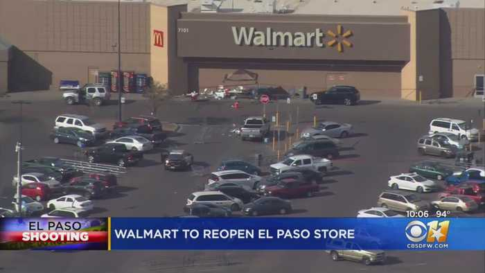 Walmart To Reopen El Paso Store With Memorial