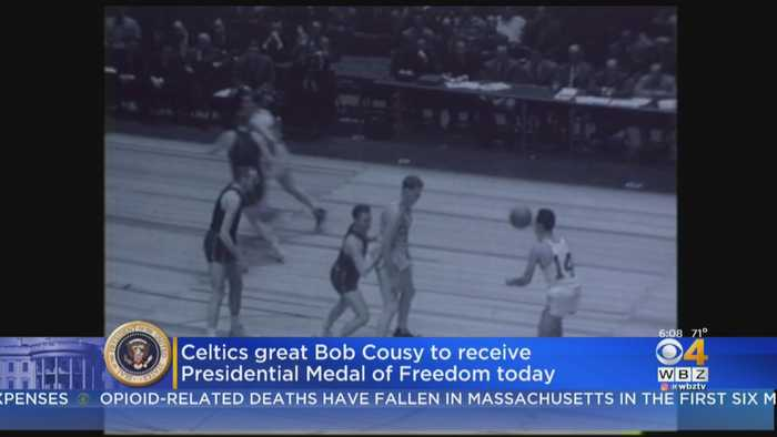Bob Cousy To Receive Medal Of Freedom At White House Ceremony