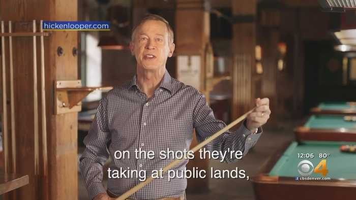 John Hickenlooper Launches Senate Campaign