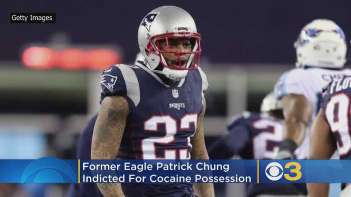 Former Eagle Patrick Chung Indicted On Cocaine Possession Charge